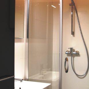 Turbinowa łazienka małe